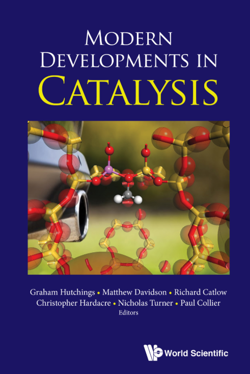 Modern Developments in catalysis book cover image