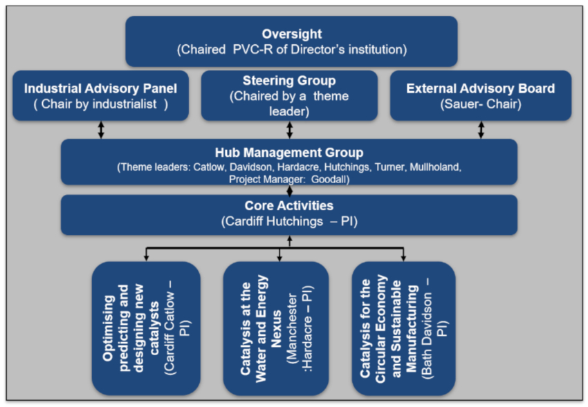 management structure diag