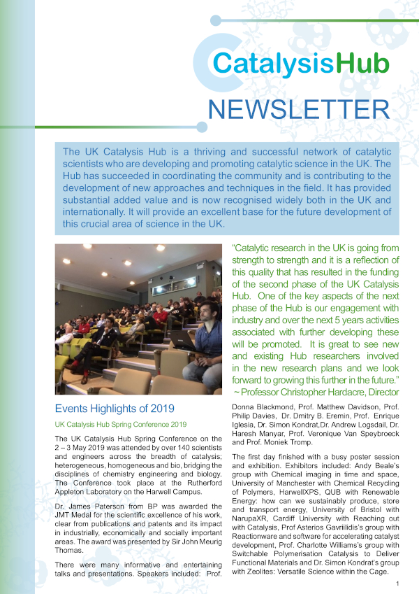 Newsletter Summer cover