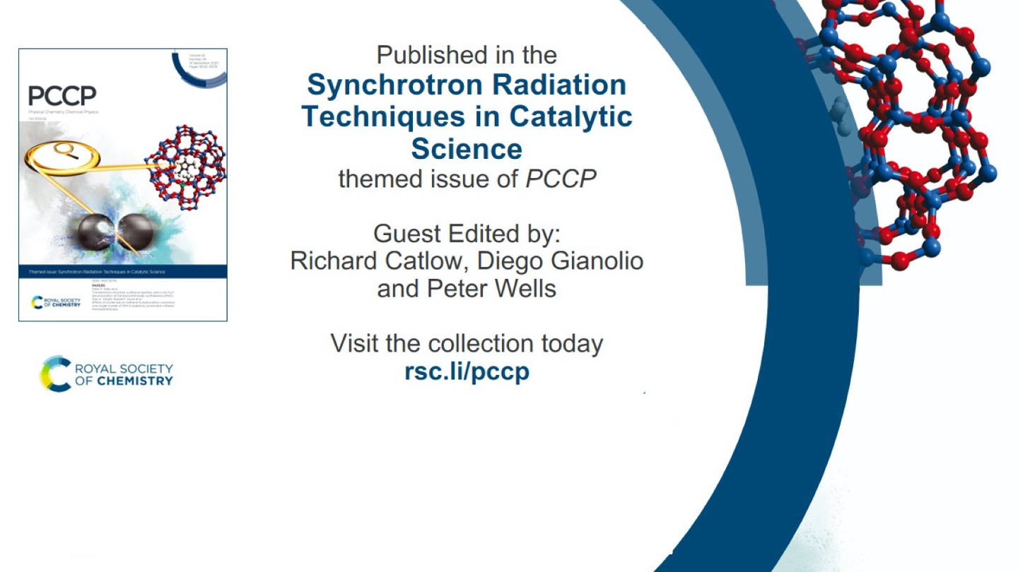 Synchrotron Radiation Techniques in Catalytic Science themed issue of PCCP
