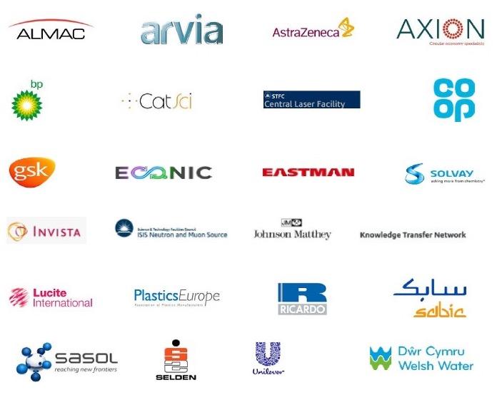 UK Catalysis Hub Industrial Advisory Partner logos